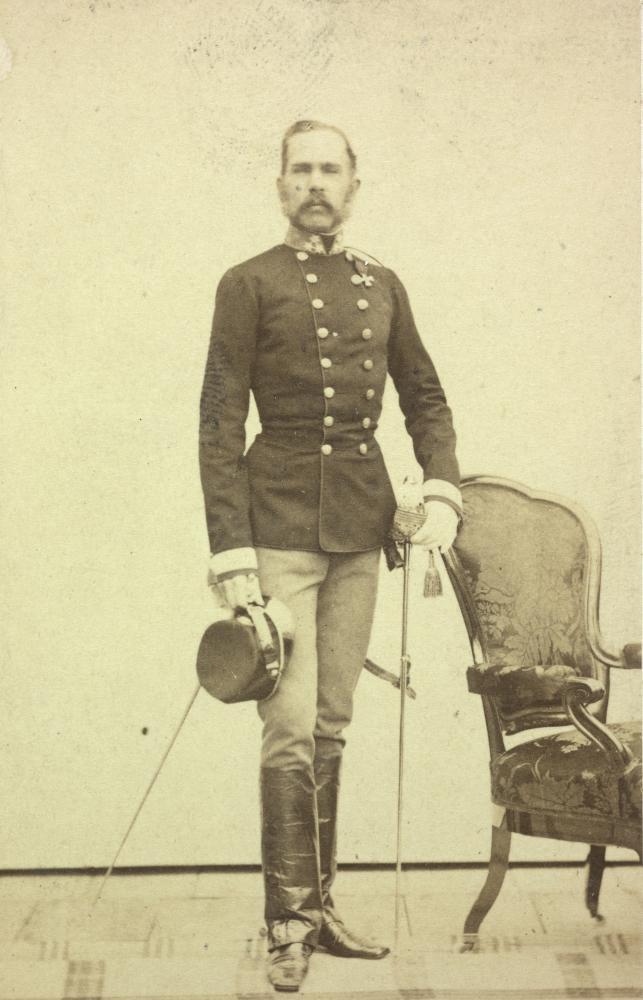 Portrait Kaiser Franz Josefs, 1860